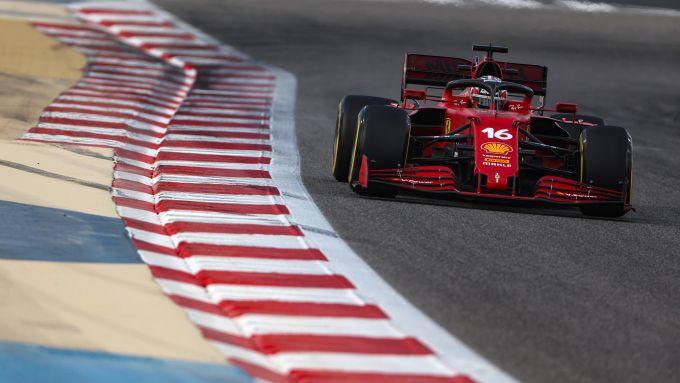 F1 Test Bahrain 2021, Charles Leclerc (Ferrari)