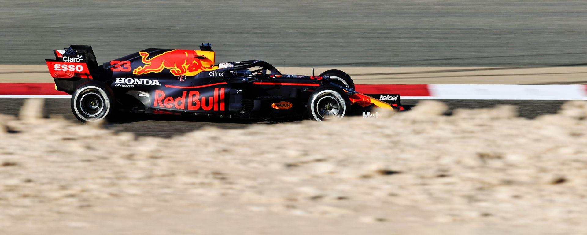 F1 Test Bahrain 2021, Max Verstappen (Red Bull)