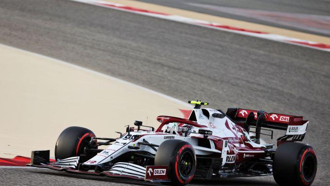 F1 Test Bahrain 2021, Sakhir: Antonio Giovinazzi (Alfa Romeo Racing)
