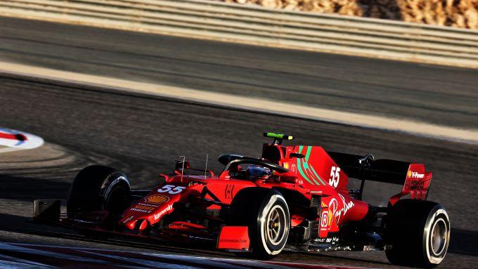 F1 Test Bahrain 2021, Sakhir: Carlos Sainz (Scuderia Ferrari)