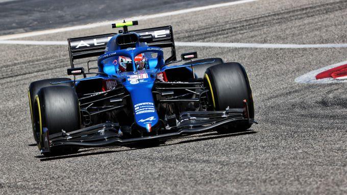 F1 Test Bahrain 2021, Sakhir: Esteban Ocon (Alpine Renault F1 Team)