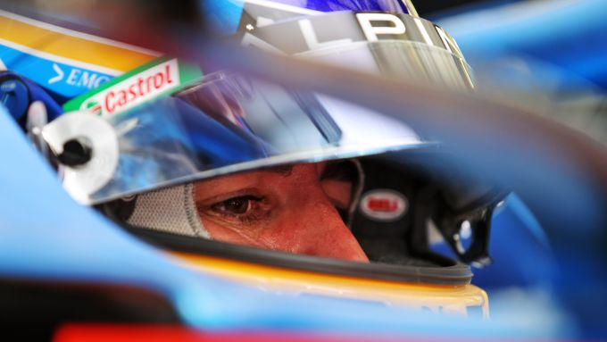 F1 Test Bahrain 2021, Sakhir: Fernando Alonso (Alpine Renault)