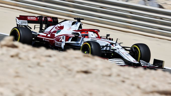 F1 Test Bahrain 2021, Sakhir: Kimi Raikkonen (Alfa Romeo Racing)