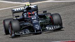 F1 Test Bahrain 2021, Sakhir: la nuova AlphaTauri AT02 in pista