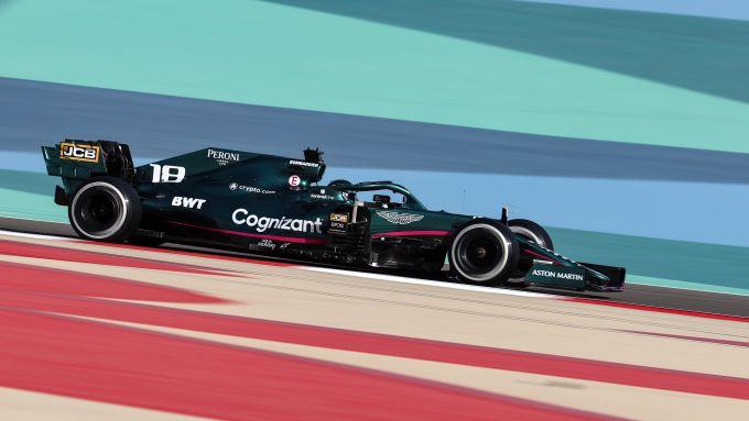 F1 Test Bahrain 2021, Sakhir: Lance Stroll (Aston Martin Racing)
