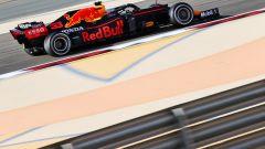 F1 Test Bahrain 2021, Sakhir: Max Verstappen in pista con la Red Bull RB16B