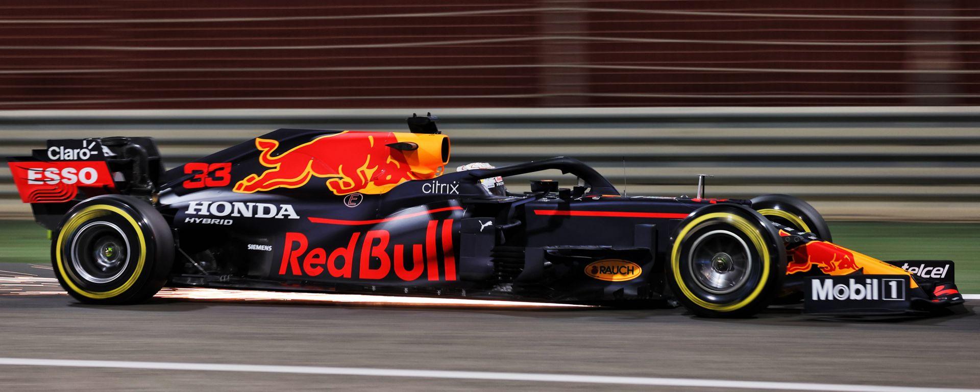 F1 Test Bahrain 2021, Sakhir: Max Verstappen (Red Bull Racing)
