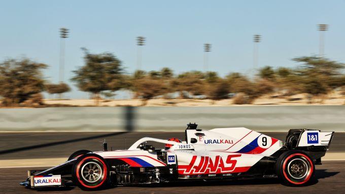 F1 Test Bahrain 2021, Sakhir: Nikita Mazepin (Haas F1 Team)