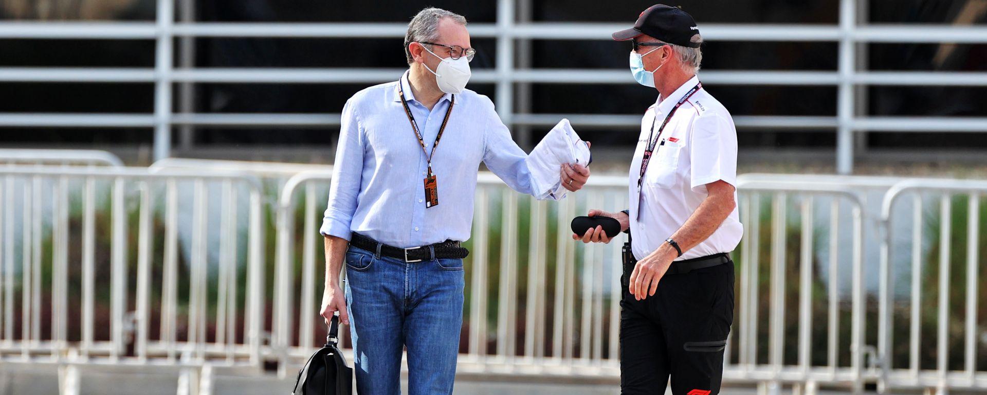 F1 Test Bahrain 2021, Sakhir: Stefano Domenicali (Liberty Media)
