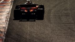 F1 Test Barcellona-2, Charles Leclerc al tramonto