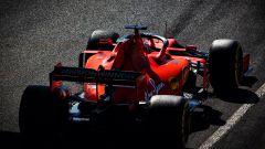 F1 Test Barcellona-2, la Ferrari di Leclerc