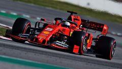 F1 Test Barcellona-2, la Ferrari SF90