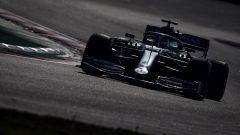 F1 Test Barcellona-2, la Mercedes di Hamilton