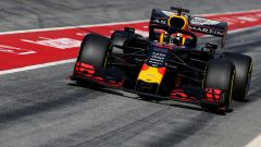 F1 Test Barcellona-2, Pierre Gasly in pit-lane