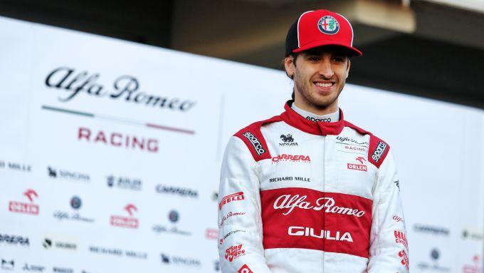 F1 Test Barcellona 2020: Antonio Giovinazzi (Alfa Romeo Racing)