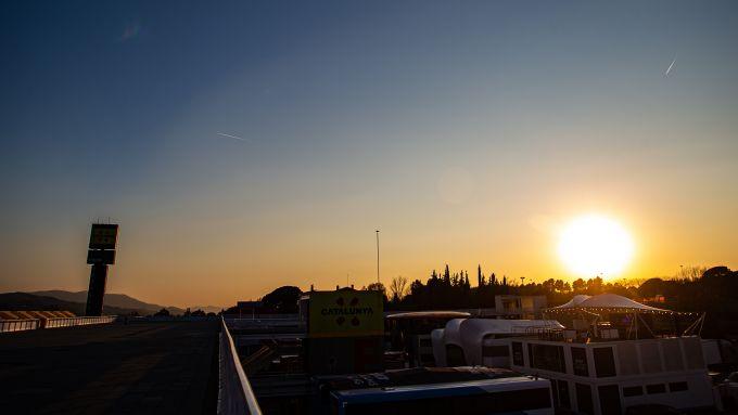 F1 Test Barcellona 2020: Atmosfera dal circuito