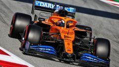 F1 Test Barcellona 2020: Carlos Sainz al volante della McLaren MCL35