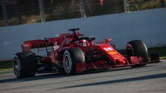F1 Test Barcellona 2020: Charles Leclerc alla guida della Ferrari SF1000