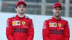 F1 Test Barcellona 2020: Charles Leclerc e Sebastian Vettel (Ferrari)