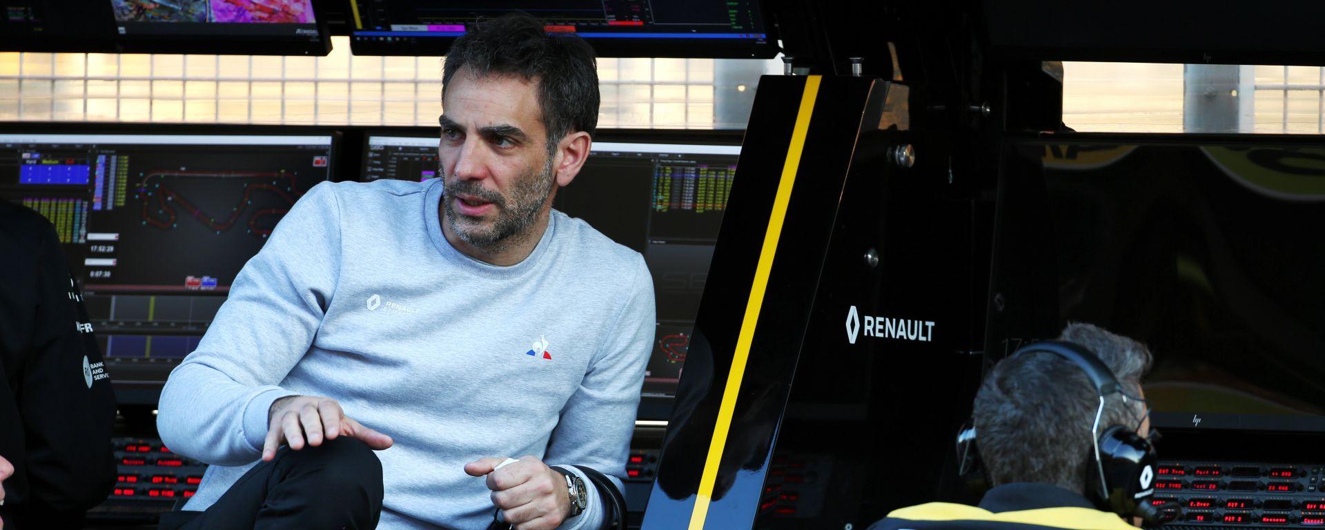 F1 Test Barcellona 2020: Cyril Abiteboul (Renault Sport F1)