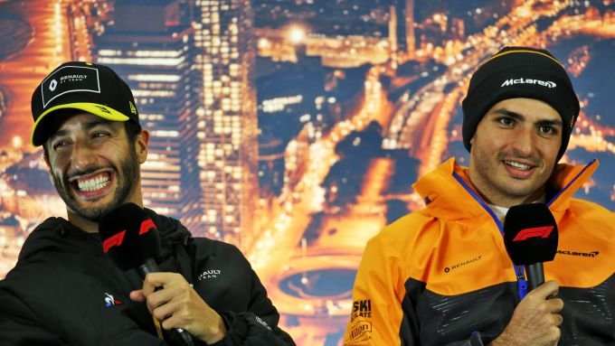 F1 Test Barcellona 2020: Daniel Ricciardo (Renault) e Carlos Sainz (McLaren)