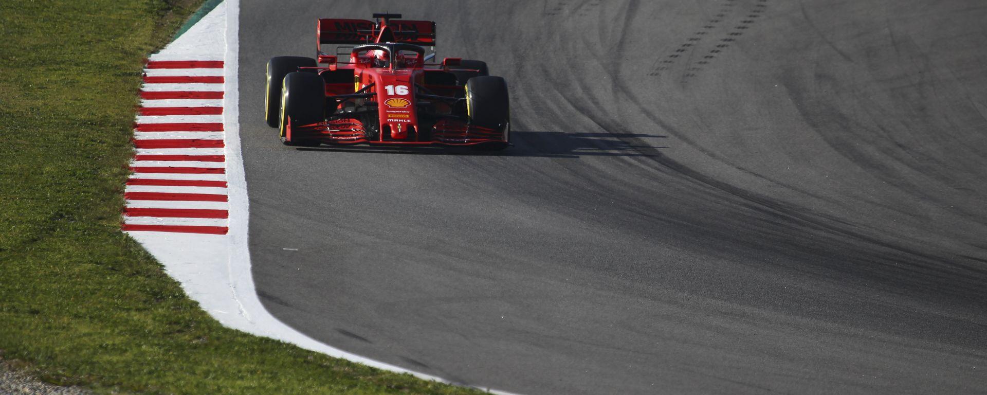 F1 Test Barcellona 2020, Day-1: Charles Leclerc (Ferrari) - Foto: Alessio De Marco | Avens-Images.com