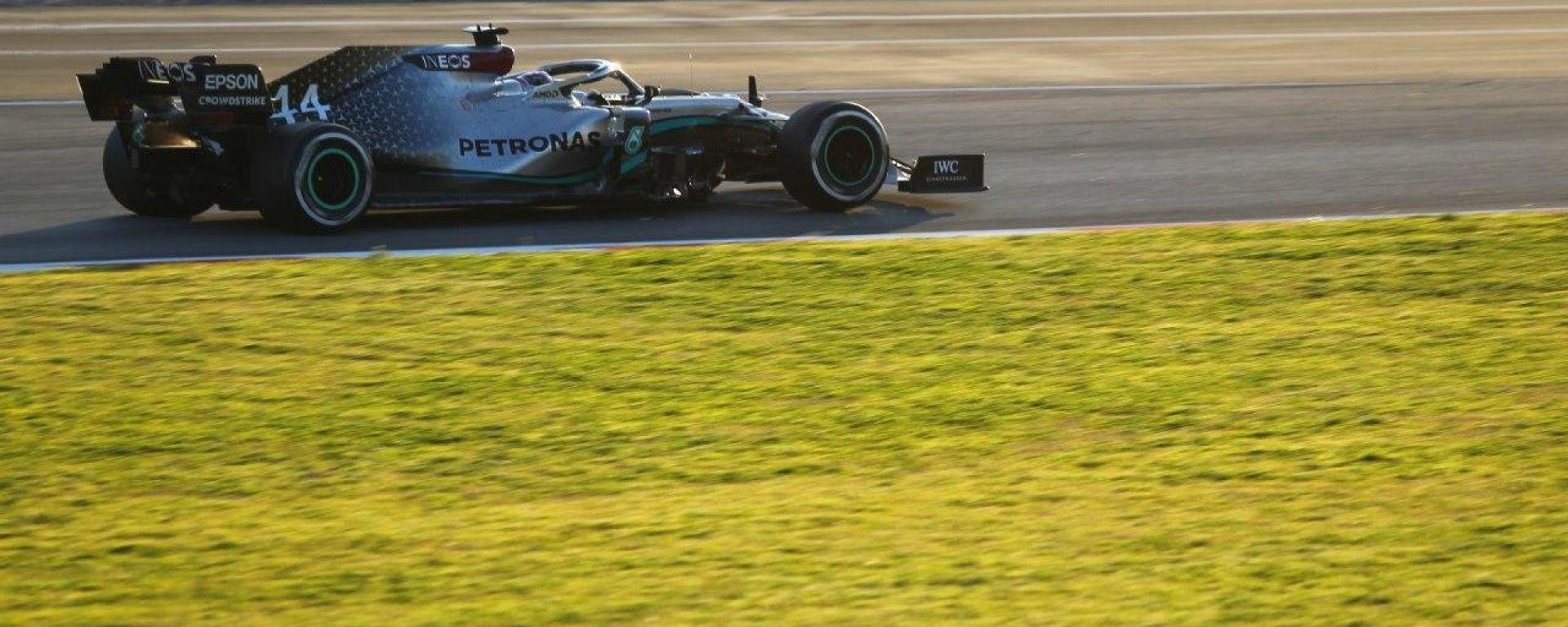 F1 Test Barcellona 2020, Day-1: Lewis Hamilton (Mercedes). Foto: Alessio De Marco | Avens-Images.com