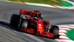 F1 Test Barcellona 2020, Day-2: Sebastian Vettel (Ferrari) oggi ha debuttato sulla SF1000