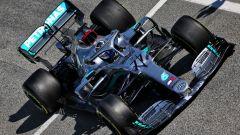 F1 Test Barcellona 2020, Day-3: la Mercedes W11 di Valtteri Bottas