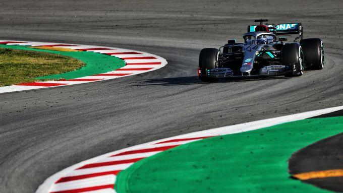F1 Test Barcellona 2020, Day-3: Valtteri Bottas (Mercedes)