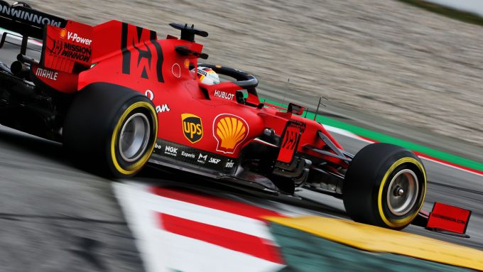 F1 Test Barcellona 2020, Day-5: Sebastian Vettel (Ferrari)