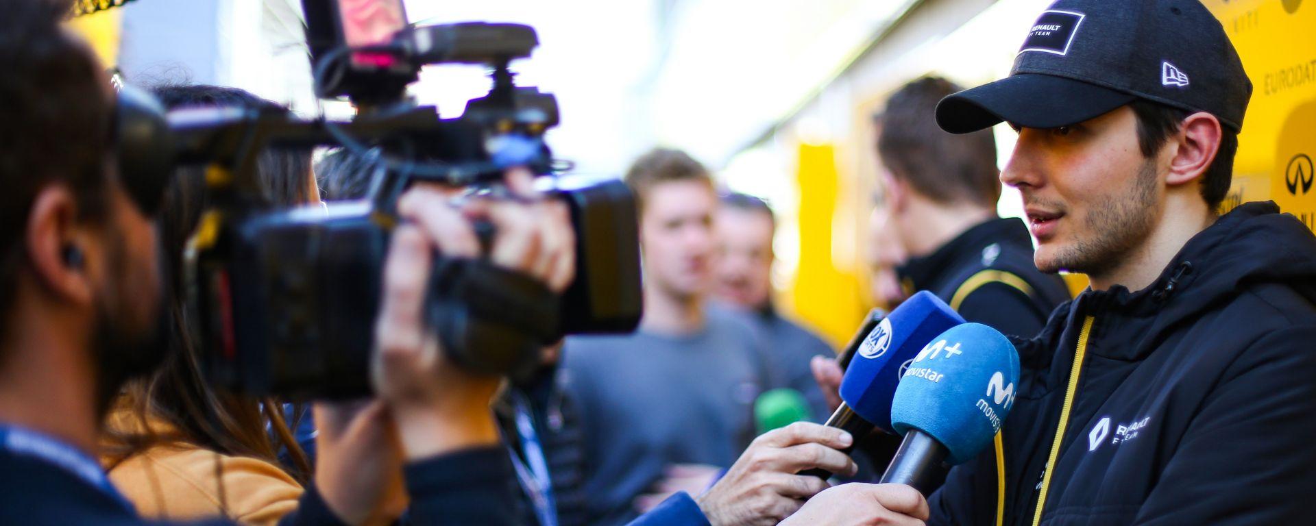 F1 Test Barcellona 2020: Esteban Ocon (Renault Sport F1)