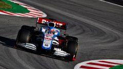 F1 Test Barcellona 2020: George Russell alla guida della Williams FW43