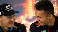 F1 Test Barcellona 2020: George Russell (Williams) e Alexander Albon (Red Bull)