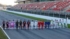 F1 Test Barcellona 2020: i piloti partecipanti al campionato di Formula 1 2020