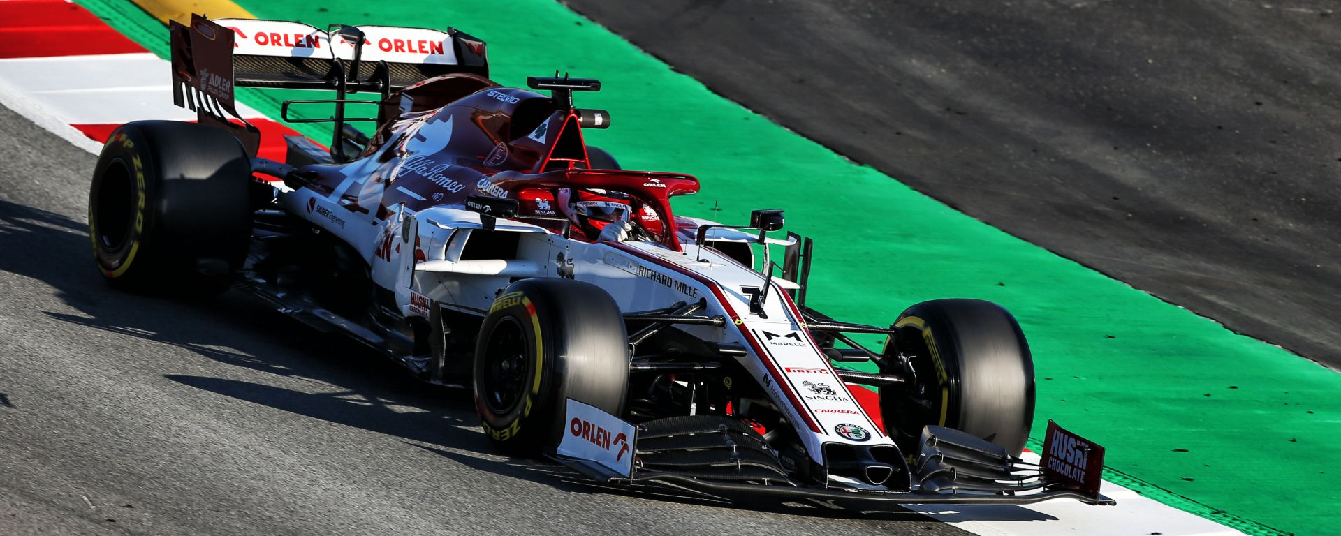 F1 Test Barcellona 2020, Kimi Raikkonen (Alfa Romeo Racing)