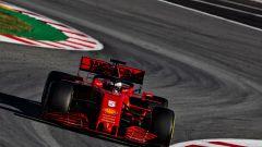 F1 Test Barcellona 2020, la Ferrari SF1000 di Sebastian Vettel