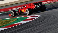 F1 Test Barcellona 2020: la Ferrari SF1000