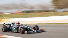 F1 Test Barcellona 2020: la Mercedes F1 W11