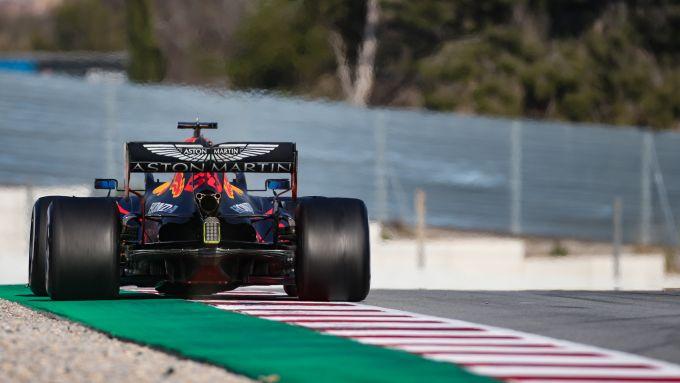 F1 Test Barcellona 2020: la Red Bull-Honda RB16