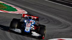 F1 Test Barcellona 2020: la Williams FW43 in pista con George Russell