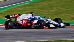 F1 Test Barcellona 2020: la Williams-Mercedes FW43