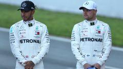 F1 Test Barcellona 2020: Lewis Hamilton e Valtteri Bottas (Mercedes)