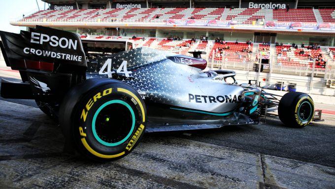 F1 Test Barcellona 2020: Lewis Hamilton (Mercedes)