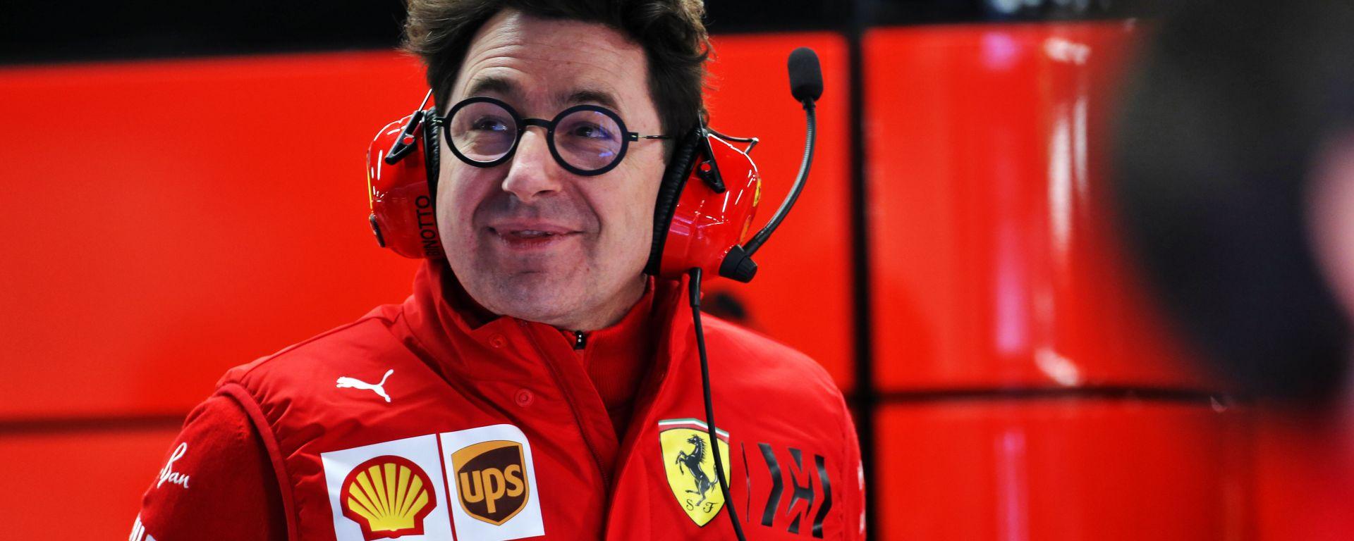 F1 Test Barcellona 2020: Mattia Binotto (Scuderia Ferrari)