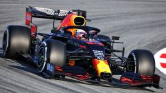 F1 Test Barcellona 2020: Max Verstappen alla guida della Red Bull RB16