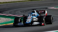 F1 Test Barcellona 2020: Nicholas Latifi al volante della Williams FW43