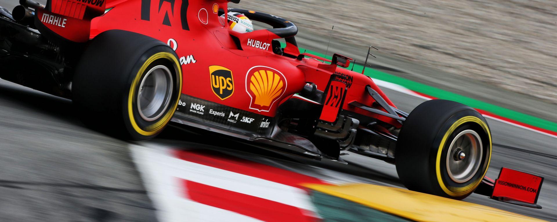 F1 Test Barcellona 2020: Sebastian Vettel (Ferrari SF1000)