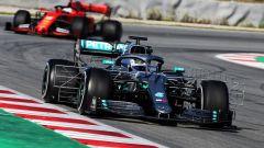 F1 Test Barcellona 2019 - Day-1: Bottas sfiora il record della pista