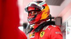 F1 Test Ferrari 2021, Fiorano: Carlos Sainz Jr (Scuderia Ferrari)
